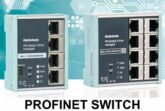 PROFINET Switch 4-8-16 port