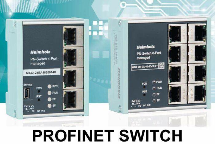 PROFINET Switch 4-8-16 port