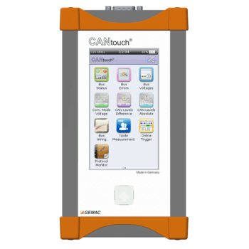 CANtouch Home screen