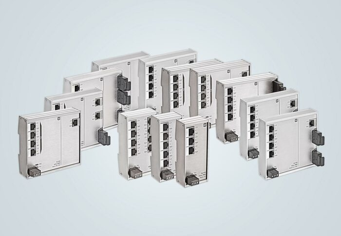 Harting unmanaged switch series
