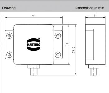 Ha-VIS RFID Antenna LR10_Size