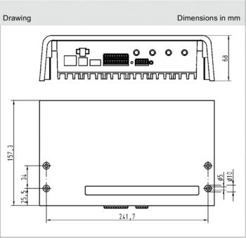 RFID READER RF-R500_Size