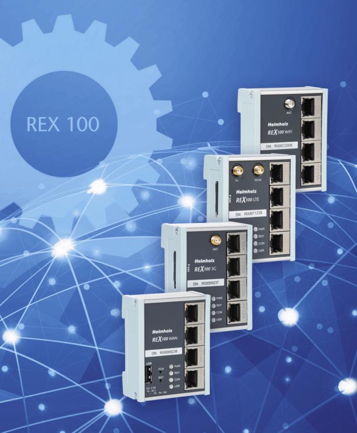 REX 100 Router family
