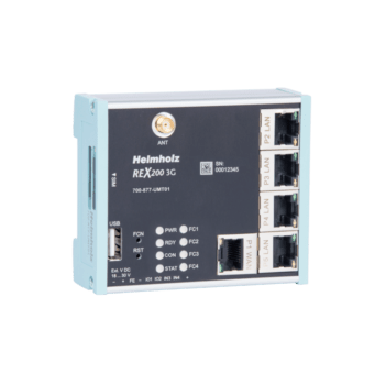 REX 200 UMTS router remote maintenance en datalogging