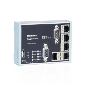 REX 250 WAN router